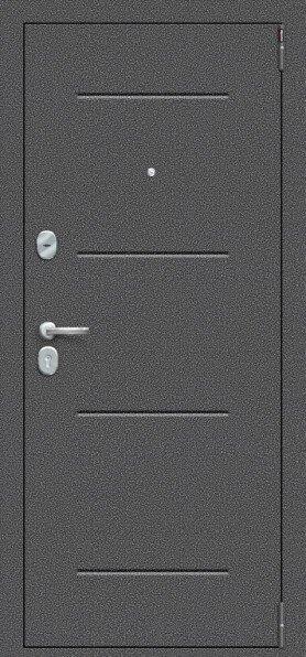 Porta S 104.К32 Антик Серебро/Cappuccino Veralinga - Серия Porta S-2 - Двери входные