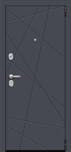 Porta S 15.15 Graphite Pro/Super White - Серия Porta S-3 - Двери входные